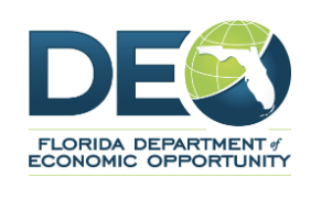 Logo of Florida Department of Economic Opportunity